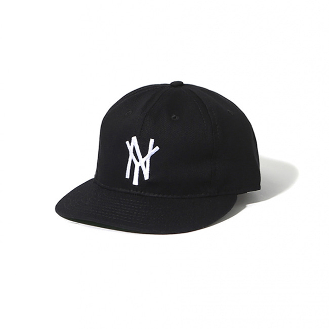 [이벳필드]EBBETS FIELD_뉴욕 맘모스 1972 코튼 캡 블랙 NEW YORK MAMMOTHS 1972 COTTON CAP BLACK
