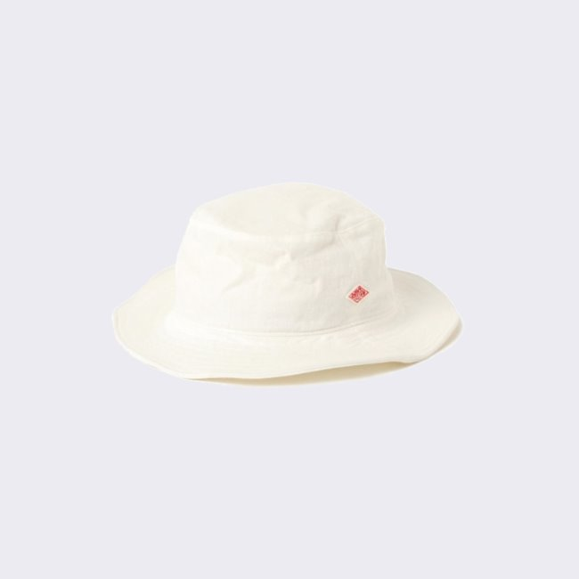 [단톤]DANTON_코튼 린넨 모자 JD-7124 MSL LIGHT COTTON LINEN HAT WHITE