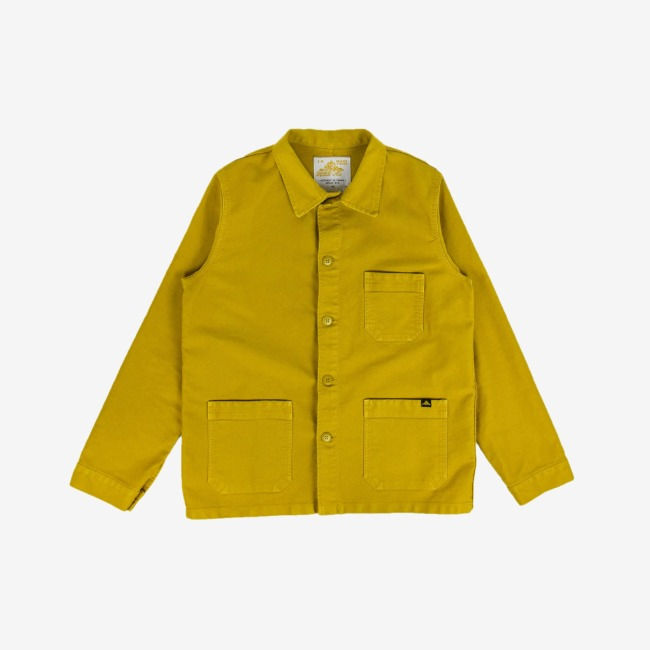 [르 몽생미셸] LE MONT SAINT MICHEL _GENUINE WORK JACKET CITRUS