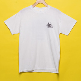 [유룩나이스투데이] YOU LOOK NICE TODAY X SOUTHSWELL ULTRA COTTON T-SHIRTS (USA FIT) WHITE/RAINBOW - BROTHERS FROM ANOTHER MOTHER