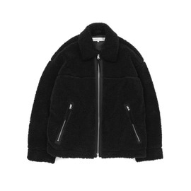 [라이풀]LIFUL_B-1 퍼자켓 블랙 B-1 FUR JACKET  black