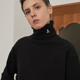 "[아티팩츠]ARTIFACTS_Artifats ""A"" 터틀넥 블랙  Artifats ""A"" Turtleneck_ Black"