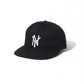[EBBETS FIELD]이벳필드_뉴욕 맘모스 1972 코튼 캡 블랙 NEW YORK MAMMOTHS 1972 COTTON CAP BLACK
