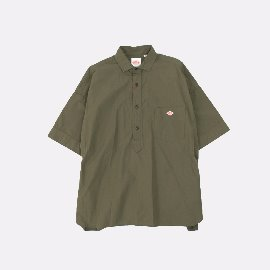 [단톤]DANTON_빅 워크 코튼셔츠 올리브 JD-3654 MSA BIG WORK COTTON SHIRTS (UNISEX) Olive