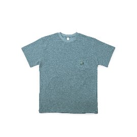[빅유니온]Big Union_BU x East Oklm 슬러브 포켓 티 인디고 Slub Pocket Tee Indigo