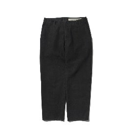 [포터리]POTTERY_WIDE DENIM PANTS COTTON HIGH DENSITY TWILL DENIM CLOTH ENZYME WASH BLACK