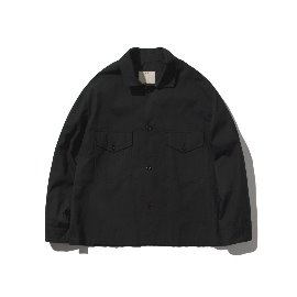 [포터리]POTTERY_TWO POCKET JACKET Black