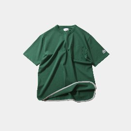 [홀리선]HORLISUN_Emery Short Sleeve Pocket Seasonal T-shirts / Green