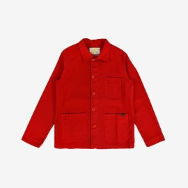 [르 몽생미셸] LE MONT SAINT MICHEL _GENUINE WORK JACKET RED