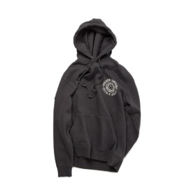 [빅웨이브]BIG WAVE_PEACE BEGINS SMILE HOODIE (IRON GRAY)