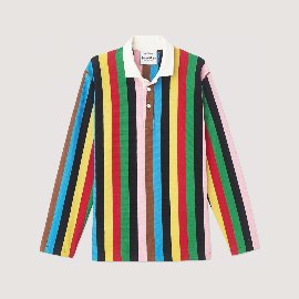 [로잉 블레이저] Rowing Blazers_THE CROQUET STRIPE RUGBY_super heavyweight rugby