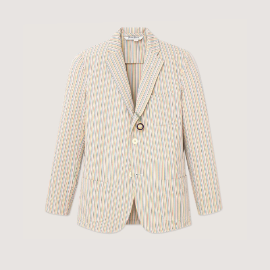 [로잉 블레이저] Rowing Blazers_CROQUET SEERSUCKER BLAZER_lightweight cotton jacket