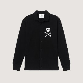 [로잉 블레이저] Rowing Blazers_1860 SKULL AUTHENTIC HEAVYWEIGHT RUGBY OVERSHIRT_super heavyweight overshirt