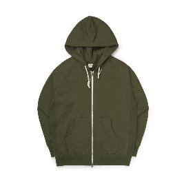[빅유니온]Big Union_89 Zip Up Hood Khaki