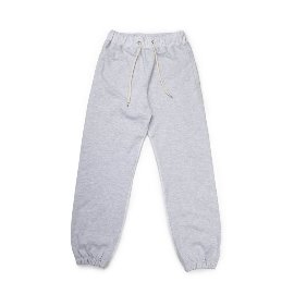 [빅유니온]Big Union_89 Sweat Pants White Melange
