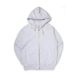 [빅유니온]Big Union_89 Zip Up Hood White Melange