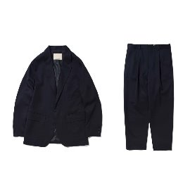 [포터리]POTTERY_Pottery By Maniac Mansion_Wool Sports Suit Navy (Fine Wool Air Force Finish)